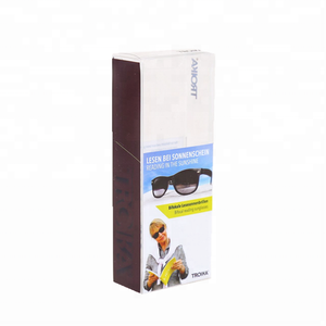 China Professional Customized Small Clear PVC PET PP Plastic Gift Packaging Boxes for Sunglasses