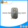 abs 3 button folding smart key cover with blade and logo for Lexus rx300 is250 rx350 gs300