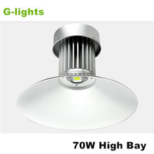 Warehouse IP65 aluminum bridgelux industrial cob 60w 70w led highbay light