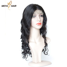 100% Natural lady star full lace wig loose wave Indian Virgin Human expression hair braiding extensions