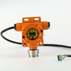 Online methane gas transmitter with range of 0-100%vol connecting to PLC for methane gas detector and alarm