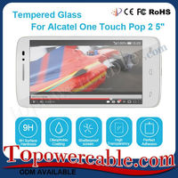 9H Tempered Glass Screen Protectors For Alcatel One Touch Pop 2 5'