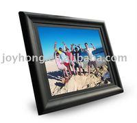 19 inch wooden digital photo frame wifi