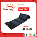 8w 5V foldable solar charger for mobile phone