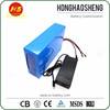 Long cycle life rechargeable motorcycle battery 60v 25ah electric bike battery