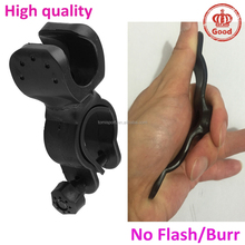 bike bicycle Flashlight Torch light Clamp Clip Mount Bracket holder