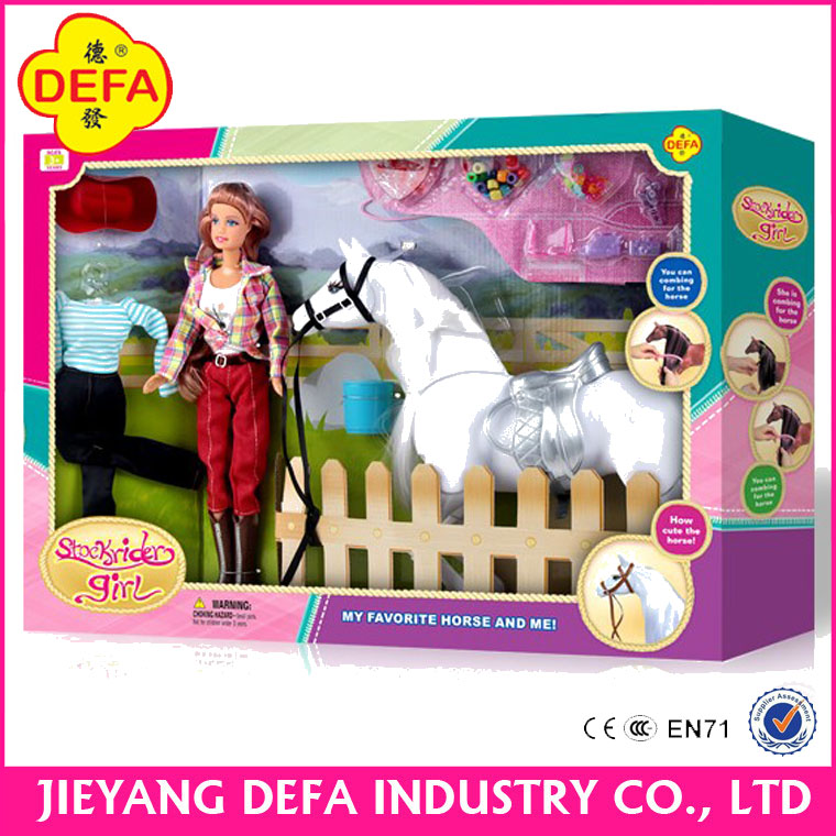Kid Toys for Children with Dolls and Little Pony