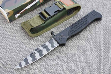 OEM Tiger tattoo and Stainless Steel Blade Material Rescue Knife Outdoor Knife
