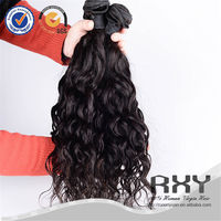 Wholesale natural wave raw indian temple hair