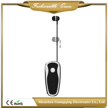 Portable USB Charging v4.1 Stereo Wireless retractable bluetooth headset with clip