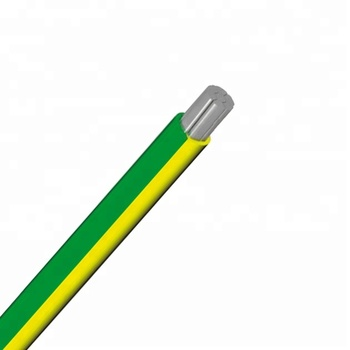 H07V-A-R,Al/PVC Insulated wire,HD 21.3,EN 50525-2-31, Yellow-Green