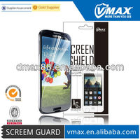 Cellular phone accessory for Samsung galaxy i9500 s4 screen protector oem/odm(Anti-Glare)