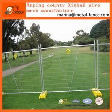 Factory supply portable temporary rodent proof free standing fencing for sale