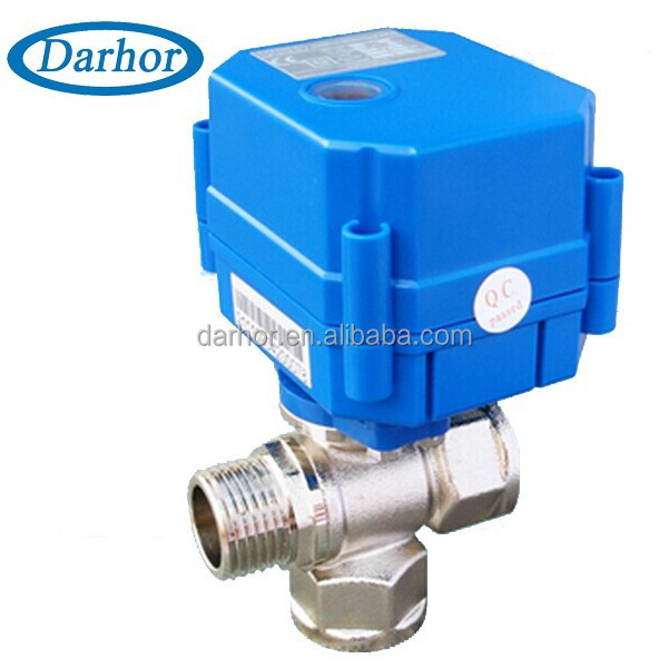 220VAC motorized ball valve for hot water tank