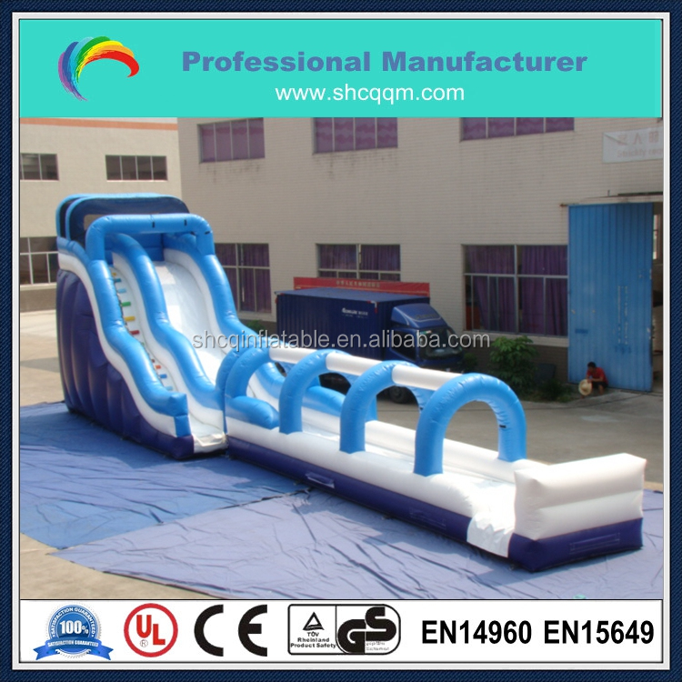 cheap commercial grade monster wave inflatable water slide for kids and adults