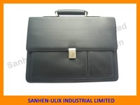 Wholesale leather briefcase with secret compartment