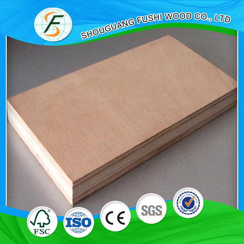 Precio barato de madera contrachapada con chapa de madera - Madera contrachapada precio ...