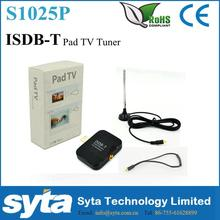 S1025P Micro USB ISDB-T Digital Mobile TV Tuner Receiver For Android Phone Tab ISDB-T PAD TV