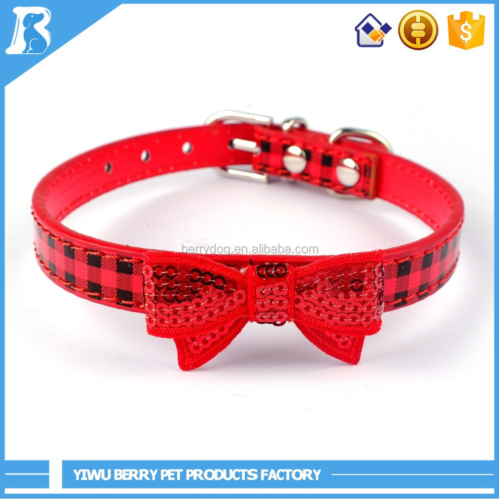 Wholesale China sequins Leather beaded collar