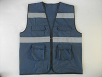 the motorcyle proposed safety reflective vest hot sale with EN ISO20471