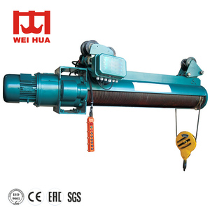 1- 100 ton Wire Rope Electric Hoist With wireless remote Price