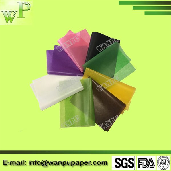 white and color glassine paper for soap wrapping