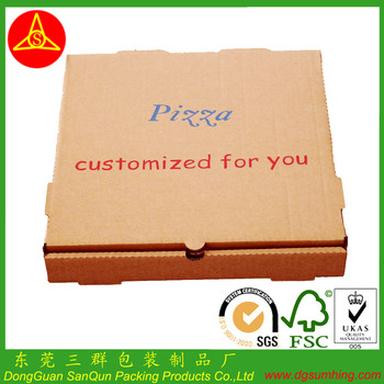 2014 New Simple Style Pizza Boxes