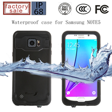 New Arrival Redpepper Waterproof Case for Samsung Note5, For Samsung Galaxy Note5 Waterproof Case