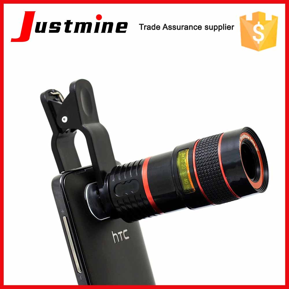Universal Wide-Angle Zoom Lens Type and Telephoto Lens Focus Type Zoom Telescope For Mobile Phone Camera Lens