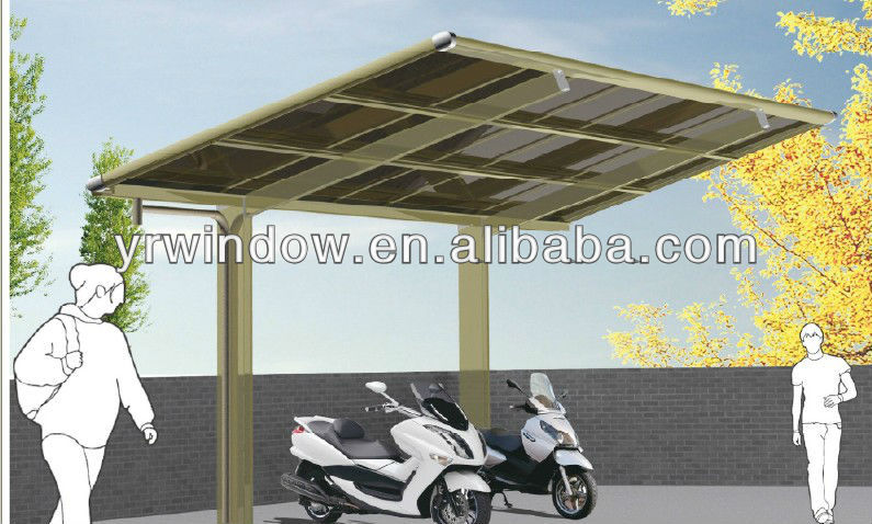 outdoor car shelter carport aluminum carport