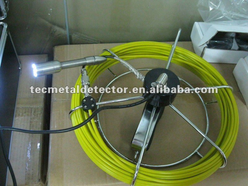 with DVR & Keyboard Sewage Pipe Inspection Camera Deep Well Camera CCTV Camera System TEC-Z710DK