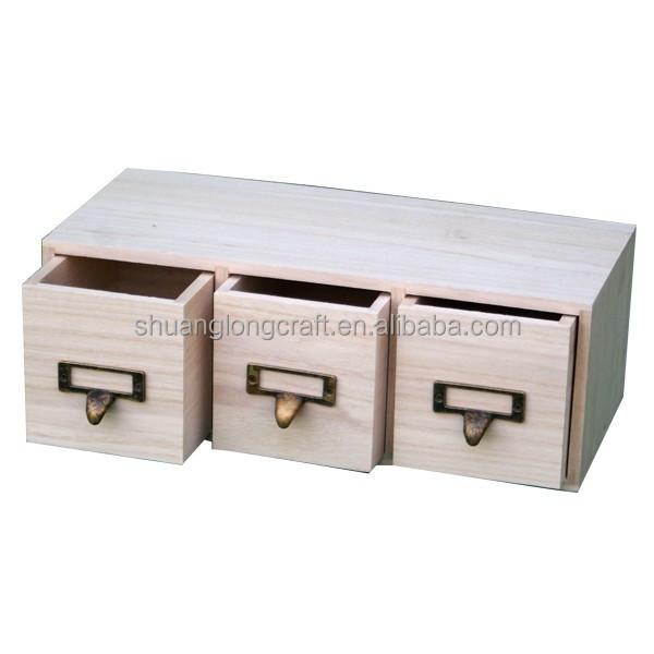 cheap exceptional petit tiroir en bois meuble casier tiroirs en bois brut tiroirs x x with. Black Bedroom Furniture Sets. Home Design Ideas