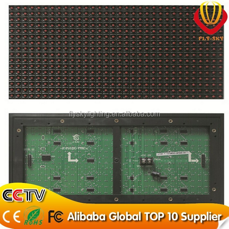 ali express Outdoor full color P20 P16 P10 P8 P7.62 P6 led module/screen