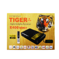Tiger receiver iptv E400Mini+ Full HD1008P IPTV Box Satellite tv receiver support free iptv server