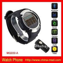 Hot Selling Super Thin Cell Phone Watch With Bluetooth