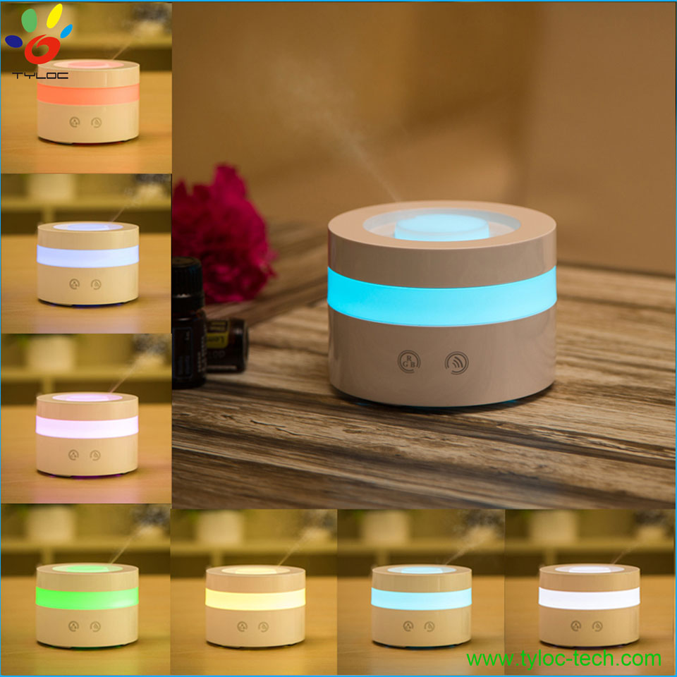 High quality 100ml aroma therapy diffuser candle light aroma diffuser for car