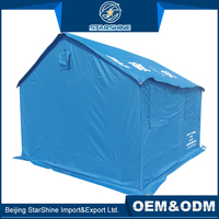 Higher Quality Comfortable Living Cotton Tents Disaster Relief Custom Frame Rescue Tent