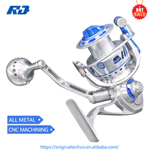 Wholesale CNC Full metal Imported material Saltwater sea Spinning fishing reel 11+1BB High quality 4000size