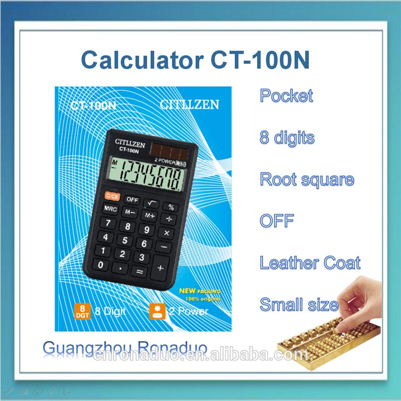 pocket notebook calculator promotional pocket calculators business gift small calculator