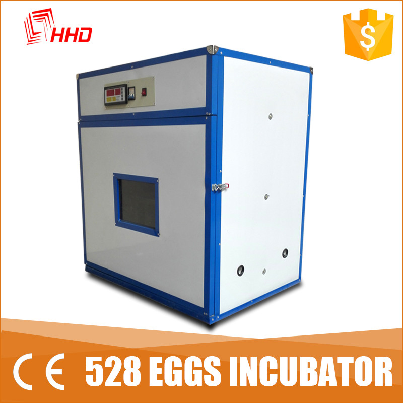 chicken poultry farm equipment High efficient incubator with CE approved holding 528 eggs YZITE-8
