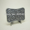 Belt Buckle For Men Original Silver Plated Western Flower 2013 New Celtic Belt Buckle BUCKLE-WT141ASG Brand New In Stock