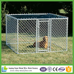 2016 hot sale Chain Link Economy Dog Kennel Hot dipped galvanized dog kennel