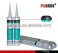 PU822 High modulus pu/Polyurethane expansion joints in concrete construction adhesive sealant material
