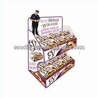 Store pop cardboard tray display for chocolate pie