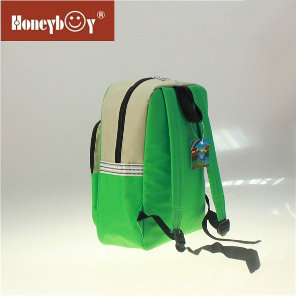 Customized School Bag Trendy Green Sports School Backpack