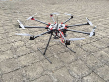 Drone UAV Octocopter GF-1000 Octocopter UAV for Aerial Photography with long fly time 30mins