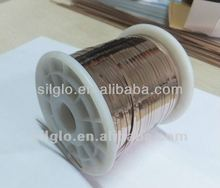 Good quality Phos-copper flat welding wire/brazing wire/solder wir welding rod