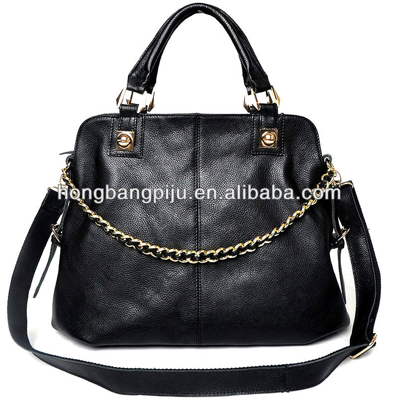 2013 luxury High quality lady leather handbag