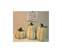 Wholesale craft artificial white pumpkins