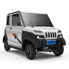 Electric 4 wheels passenger car
